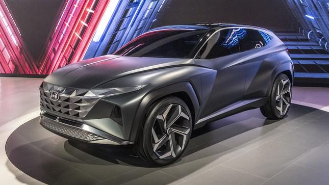Lộ diện nội thất Hyundai Tucson thế hệ mới với màn hình cỡ lớn ảnh 2