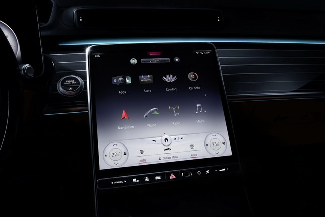 Mercedes-Benz S-Class thế hệ mới có thể tự vận hành ảnh 16