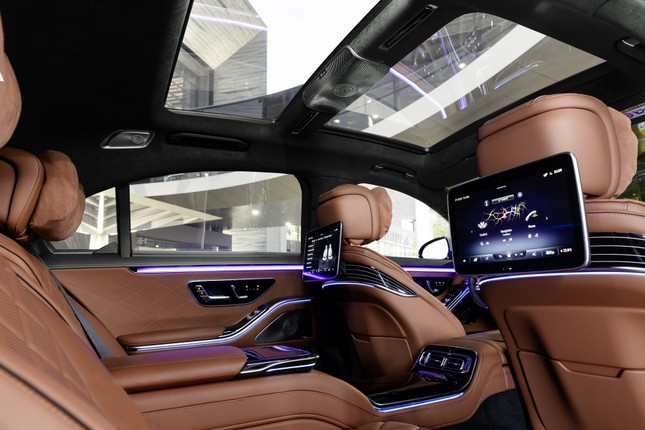 Mercedes-Benz S-Class thế hệ mới có thể tự vận hành ảnh 14