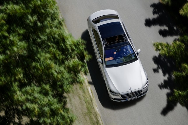 Mercedes-Benz S-Class thế hệ mới có thể tự vận hành ảnh 8