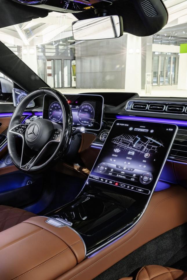 Mercedes-Benz S-Class thế hệ mới có thể tự vận hành ảnh 13