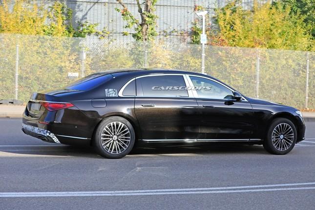Mercedes-Maybach S-Class mới lộ ảnh chạy thử ảnh 1