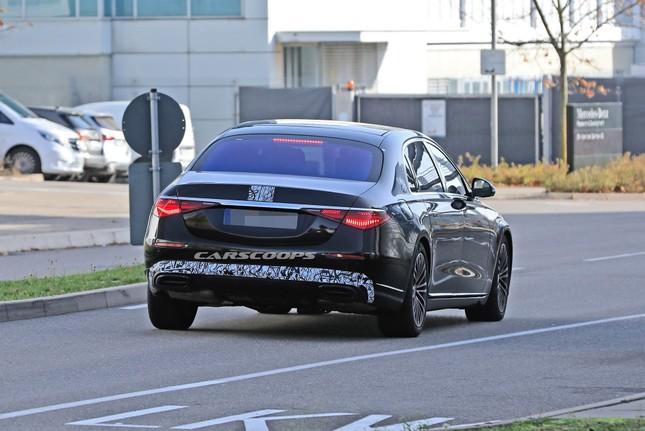 Mercedes-Maybach S-Class mới lộ ảnh chạy thử ảnh 2