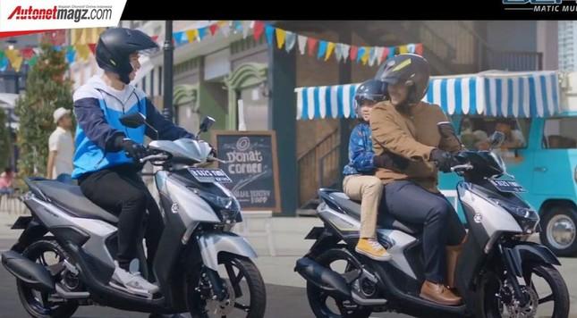 Yamaha Gear 125 hoàn toàn mới trình làng thị trường Indonesia ảnh 3
