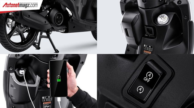 Yamaha Gear 125 hoàn toàn mới trình làng thị trường Indonesia ảnh 7
