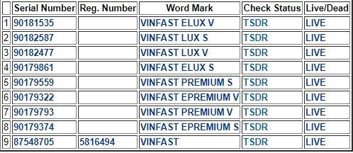 Xuất hiện tên các mẫu xe VinFast mới, sắp bán sang Mỹ? ảnh 2