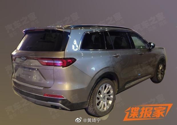 Lộ ảnh Ford Equator - đối thủ Toyota Highlander tại Trung Quốc ảnh 5