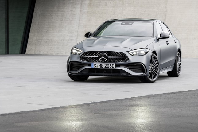 Mercedes-Benz C-Class thế hệ mới chính thức trình làng ảnh 4