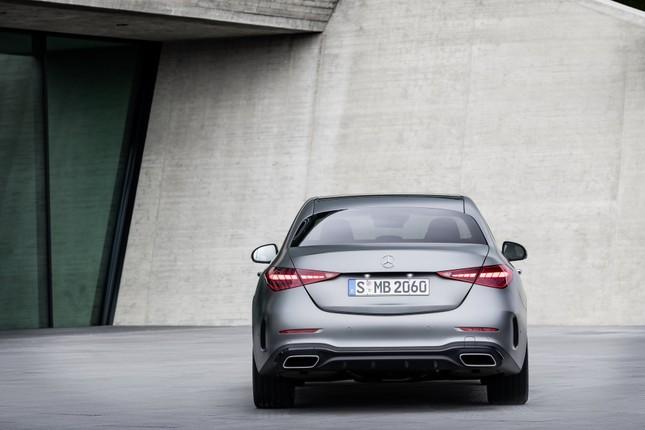 Mercedes-Benz C-Class thế hệ mới chính thức trình làng ảnh 6