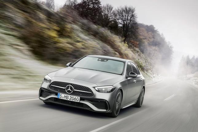 Mercedes-Benz C-Class thế hệ mới chính thức trình làng ảnh 1