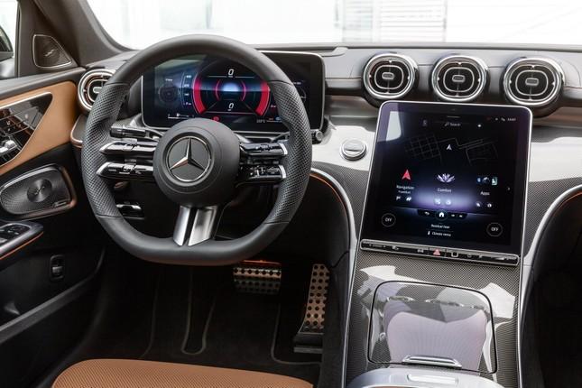 Mercedes-Benz C-Class thế hệ mới chính thức trình làng ảnh 13