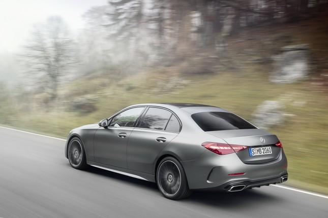 Mercedes-Benz C-Class thế hệ mới chính thức trình làng ảnh 2