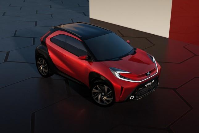 SUV mới của Toyota lộ diện với thiết kế lạ lẫm ảnh 12