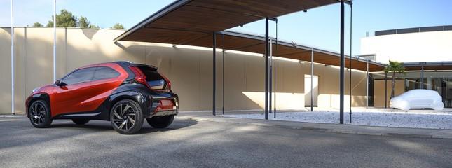 SUV mới của Toyota lộ diện với thiết kế lạ lẫm ảnh 1