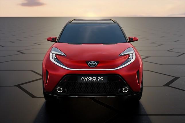 SUV mới của Toyota lộ diện với thiết kế lạ lẫm ảnh 9