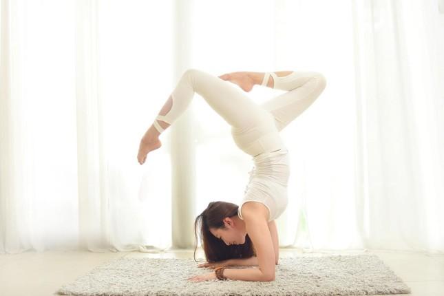 HLV yoga Trần Lan Anh: Thế mạnh của tôi là 'đả thông tư tưởng' cho người tập yoga ảnh 1