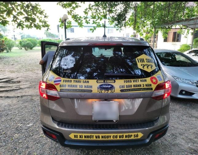 Chủ xe Ford diễu hành đòi quyền lợi ở Hà Nội ảnh 2