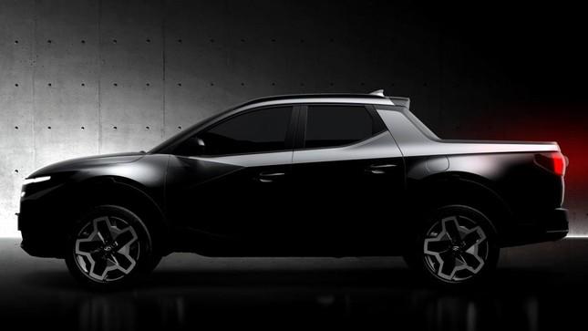 Bán tải Hyundai Santa Cruz cận kề ngày ra mắt ảnh 3