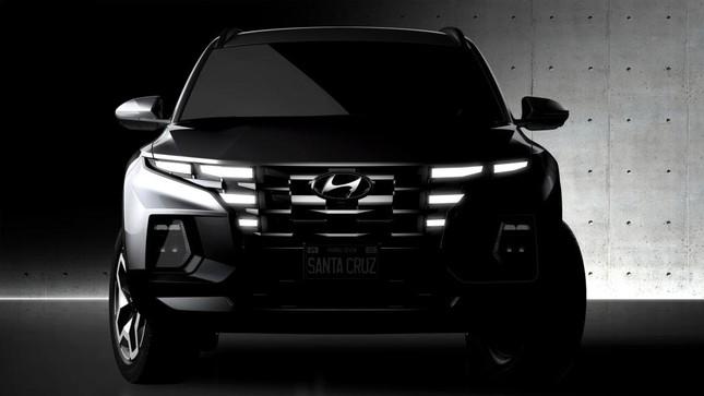 Bán tải Hyundai Santa Cruz cận kề ngày ra mắt ảnh 2
