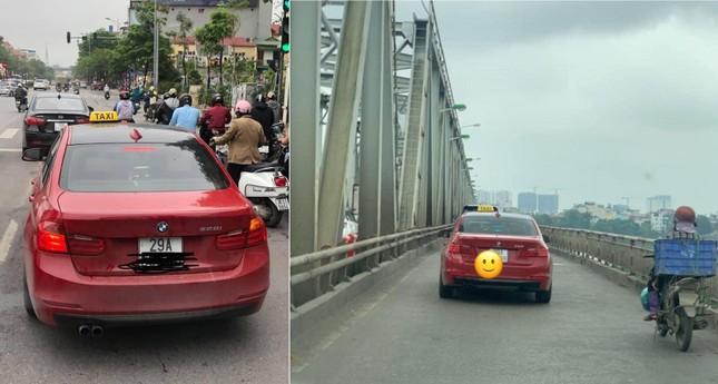Xe BMW chạy taxi: Chỉ là chiêu trò 'câu view'? ảnh 1