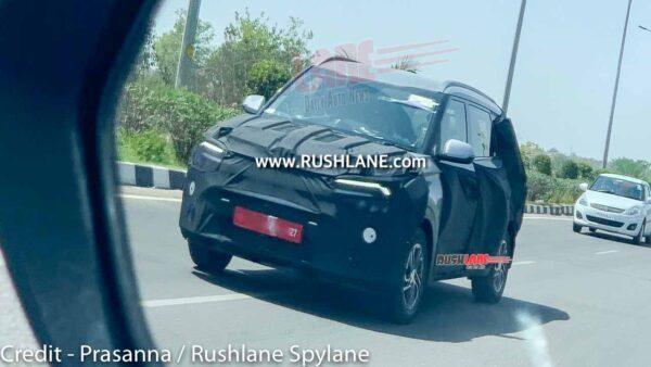 Lộ ảnh chạy thử mẫu MPV mới của Kia ảnh 1