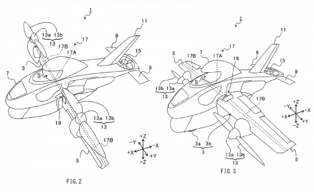 Subaru đăng ký thiết kế môtô bay ảnh 2