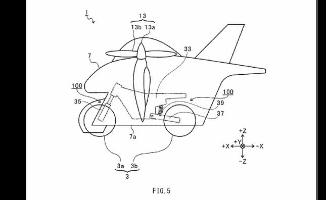 Subaru đăng ký thiết kế môtô bay ảnh 3