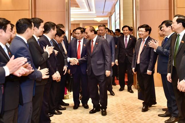Chùm ảnh: Bàn giao công việc của Thủ tướng Chính phủ ảnh 8
