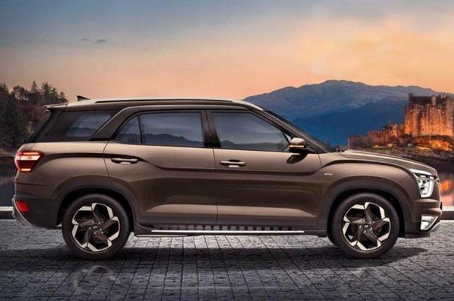 Hyundai Alcazar chính thức lộ diện ảnh 1
