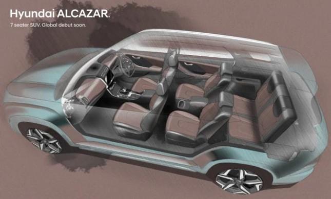 Hyundai Alcazar chính thức lộ diện ảnh 2
