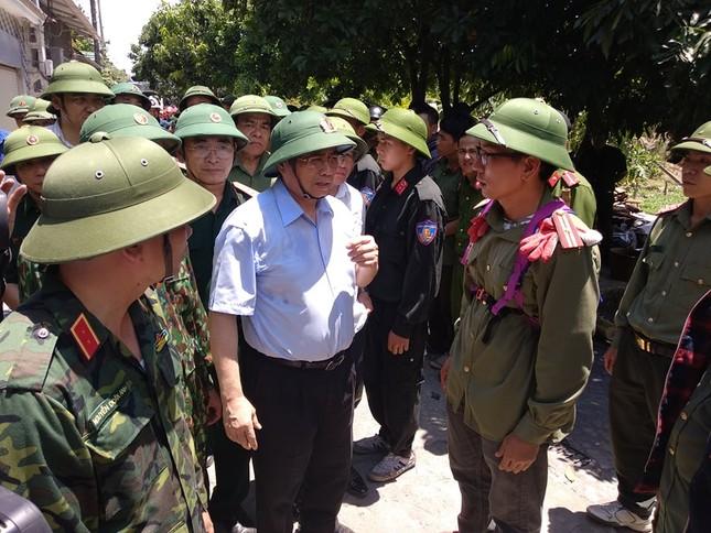 Phó Thủ tướng thị sát hiện trường vụ cháy khủng khiếp ở Hà Tĩnh ảnh 3