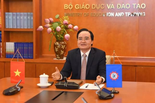 Bộ trưởng Phùng Xuân Nhạ: Đại dịch COVID-19 thúc đẩy chuyển đổi số trong giáo dục ảnh 1