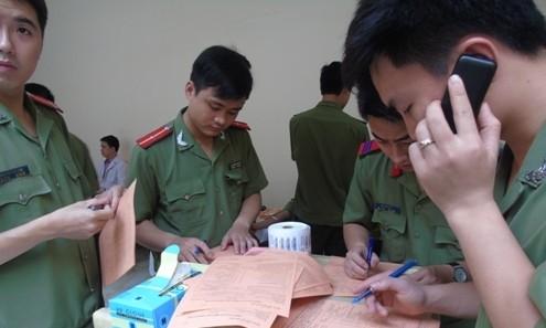 Tuổi trẻ công an tham gia hiến máu nhân đạo ảnh 3