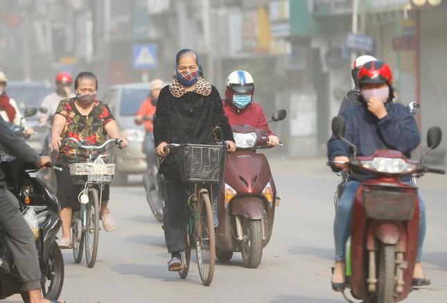 Hà Nội lại ô nhiễm không khí nghiêm trọng ảnh 1