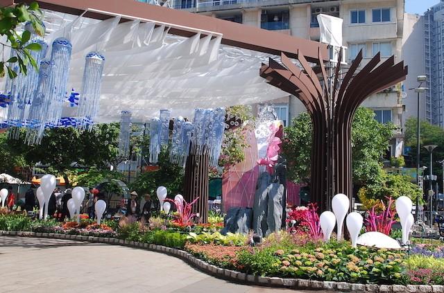 Ngắm đường hoa Nguyễn Huệ trước giờ khai mạc ảnh 2