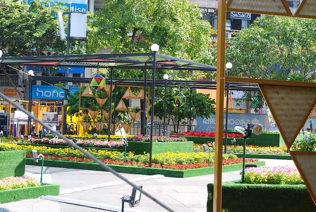 Ngắm đường hoa Nguyễn Huệ trước giờ khai mạc ảnh 4