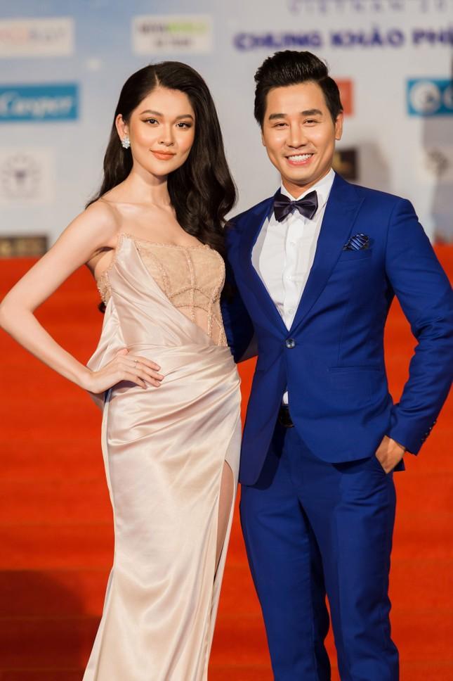 Dàn hoa hậu, á hậu khoe sắc trên thảm đỏ chung khảo Miss World Việt Nam ảnh 9