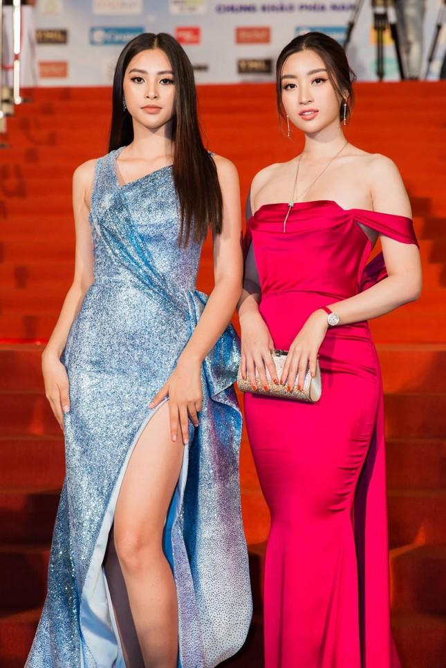 Dàn hoa hậu, á hậu khoe sắc trên thảm đỏ chung khảo Miss World Việt Nam ảnh 7