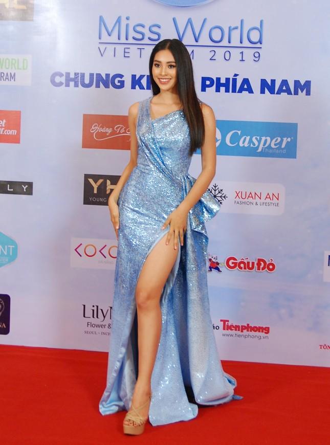 Dàn hoa hậu, á hậu khoe sắc trên thảm đỏ chung khảo Miss World Việt Nam ảnh 5