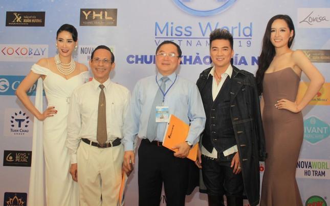 Dàn hoa hậu, á hậu khoe sắc trên thảm đỏ chung khảo Miss World Việt Nam ảnh 2