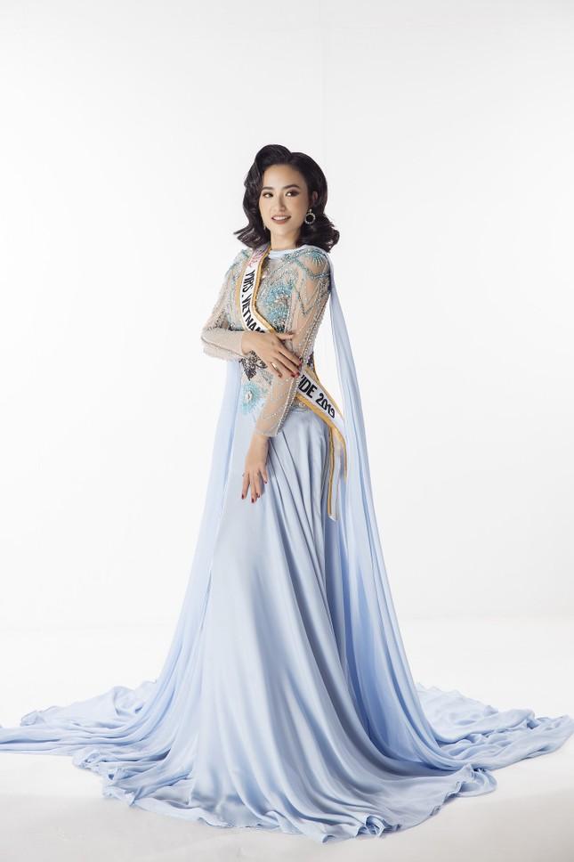 Lê Vũ Hoàng Hạt tiếp bước Dương Thùy Linh chinh chiến tại 'Mrs Worldwide 2019' ảnh 4