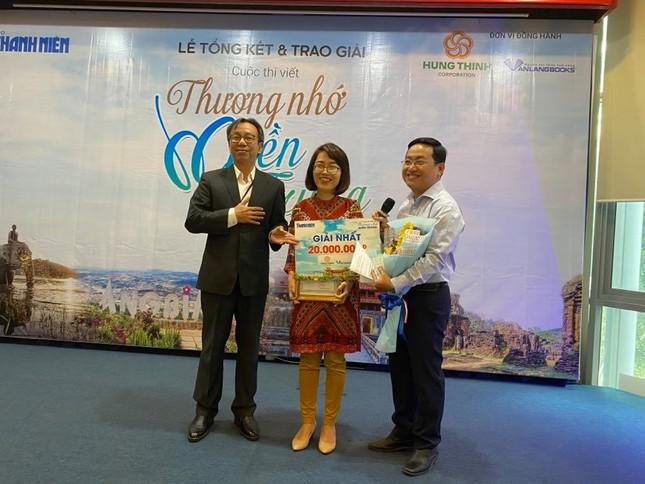 Trên 1.100 bài viết tham dự cuộc thi viết 'Thương nhớ miền Trung' ảnh 1