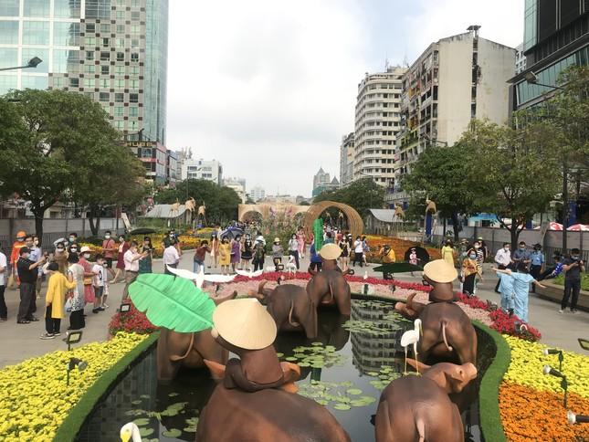 Đường hoa Nguyễn Huệ được đánh giá cao, mở cửa thêm 1 ngày ảnh 2