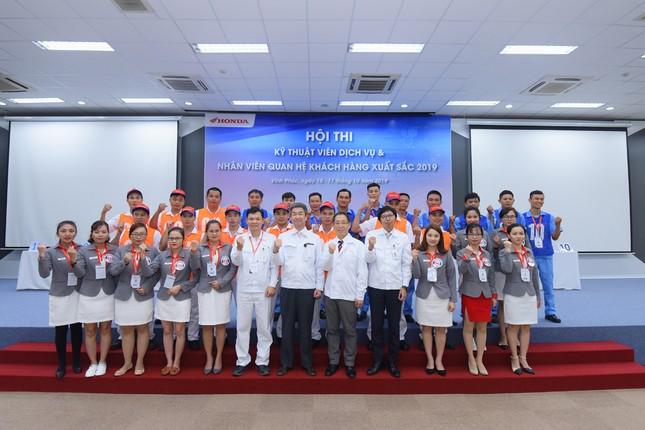 Honda Việt Nam thi Kỹ thuật viên DV và Nhân viên QHKH xuất sắc 2019 ảnh 1