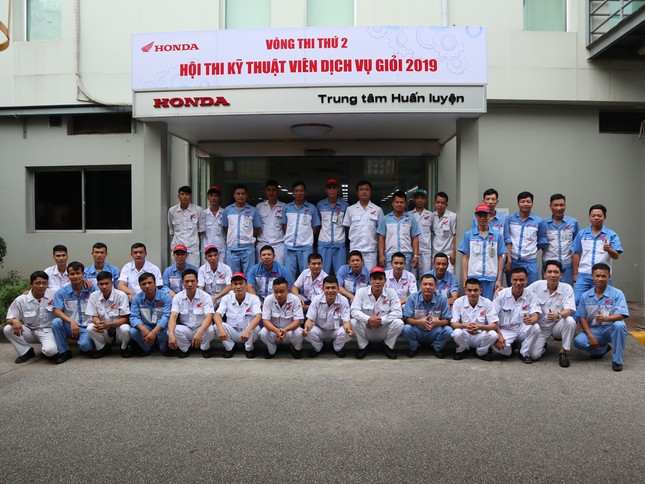 Honda Việt Nam thi Kỹ thuật viên DV và Nhân viên QHKH xuất sắc 2019 ảnh 3