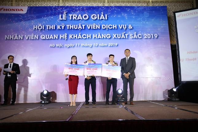 Honda Việt Nam thi Kỹ thuật viên DV và Nhân viên QHKH xuất sắc 2019 ảnh 4