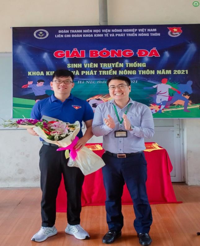 Khai mạc giải Bóng đá sinh viên khoa Kinh tế và Phát triển Nông thôn, Học viện Nông nghiệp ảnh 2
