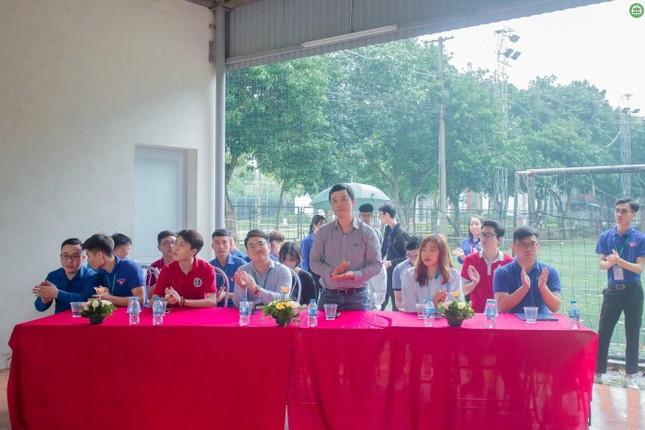 Khai mạc giải Bóng đá sinh viên khoa Kinh tế và Phát triển Nông thôn, Học viện Nông nghiệp ảnh 7