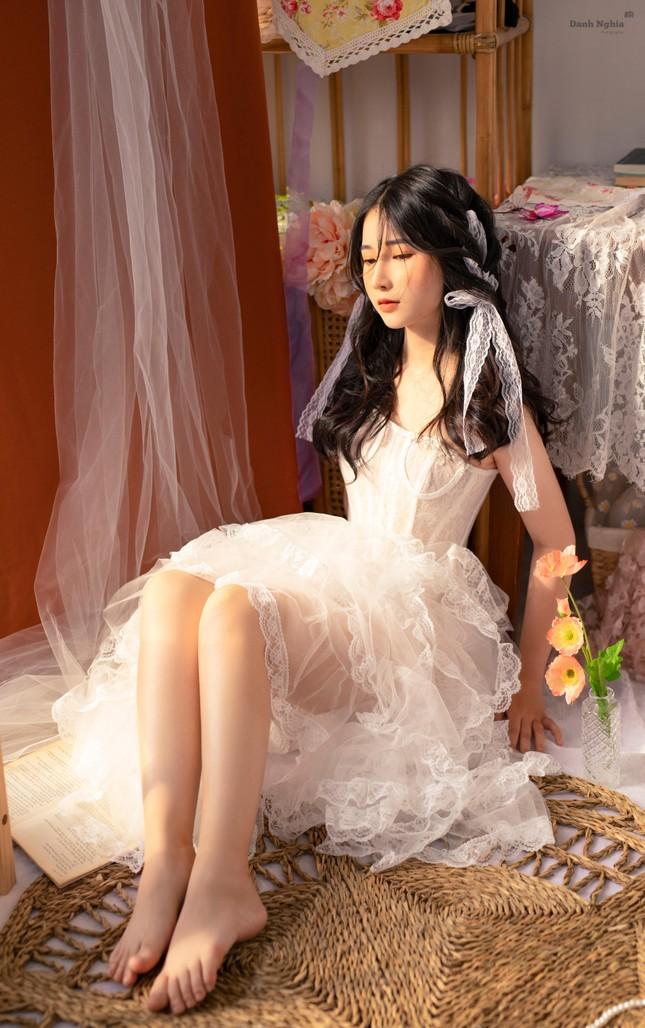"""Hotgirl Tây Ninh tung bộ ảnh """"nàng thơ"""" đốn tim cộng đồng mạng ảnh 4"""