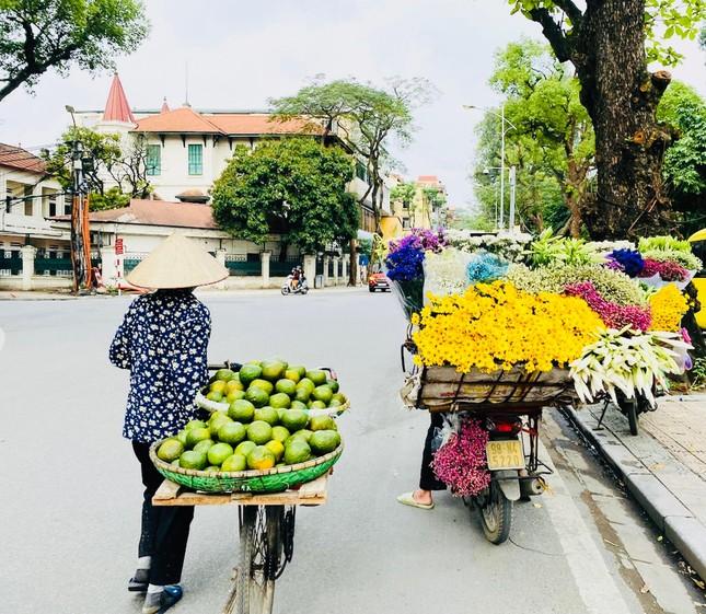 Phố phường Hà Nội lãng mạn với sắc trắng hoa Loa kèn ảnh 3